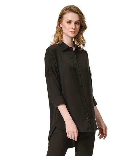 Mizalle Bluz Siyah